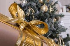 Boże Narodzenie tekstury i zabawki Obraz Royalty Free