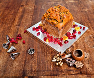 Boże Narodzenie tort Fotografia Stock