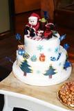 Boże Narodzenie tort Obrazy Royalty Free