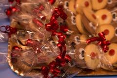Boże Narodzenie torty Fotografia Stock
