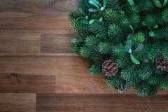 boże narodzenie w nowym roku Boże Narodzenie wianek obrazy royalty free