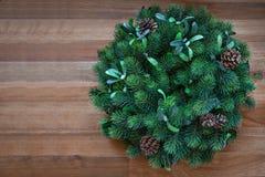 boże narodzenie w nowym roku Boże Narodzenie wianek zdjęcia royalty free
