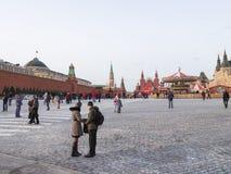 Boże Narodzenie wakacje w Moskwa Zdjęcie Royalty Free