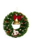 Boże Narodzenie wianek Obrazy Royalty Free