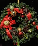 Boże Narodzenie wianek Zdjęcia Stock