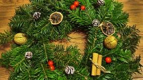 Boże Narodzenie wianek Zdjęcie Royalty Free