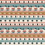 Boże Narodzenie wzór Obrazy Stock