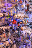 Boże Narodzenie zabawki w retro stylu Fotografia Stock
