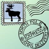 boże narodzenie znaczki Fotografia Royalty Free
