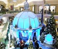 bożego narodzenia centrum handlowe Obraz Royalty Free