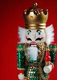 bożego narodzenia dziadek do orzechów Zdjęcia Royalty Free