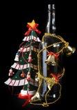 bożego narodzenia futerka drzewo Obrazy Royalty Free