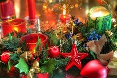 Bożenarodzeniowa dekoracja. Fotografia Stock