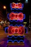Bożenarodzeniowa dekoracja w Medellin Zdjęcia Stock