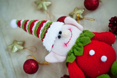 Bożenarodzeniowa elf zabawka Zdjęcie Stock