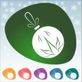 Bożenarodzeniowa ikona Zdjęcie Royalty Free