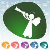 Bożenarodzeniowa ikona Fotografia Stock