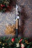 Bożenarodzeniowa jaskrawa dekoracja Fotografia Royalty Free