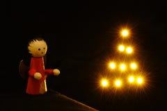Bożenarodzeniowa lala Obrazy Royalty Free