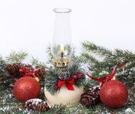 Bożenarodzeniowa lampa Zdjęcie Royalty Free