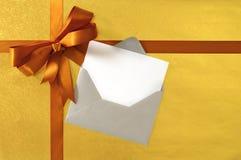 Bożenarodzeniowa lub urodzinowa karta z i, i Zdjęcia Stock