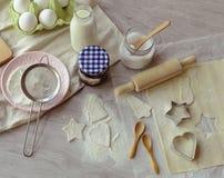 Bożenarodzeniowa piekarnia Fotografia Stock