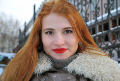 Bożenarodzeniowa portret zimy bajka Obrazy Stock