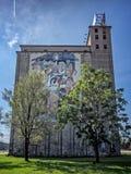 Bożenarodzeniowa sztuka na Grainery w Springfield MO Zdjęcia Royalty Free