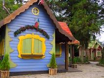 Bożenarodzeniowa wioska Zdjęcie Stock