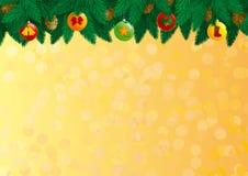 Bożenarodzeniowe dekoracje Zdjęcia Stock