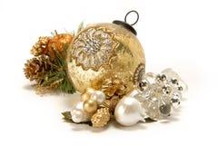 Bożenarodzeniowe dekoracje. Obraz Royalty Free