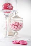 Bożenarodzeniowe dekoracje i cukierki Obraz Stock