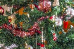 Bożenarodzeniowe dekoracje od drzewa Zdjęcia Stock