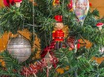 Bożenarodzeniowe dekoracje od drzewa Obraz Stock