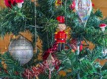 Bożenarodzeniowe dekoracje od drzewa Fotografia Stock