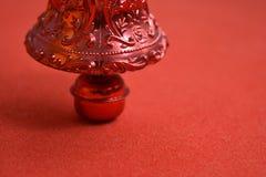 Bożenarodzeniowego dzwonu dekoracja Obrazy Stock
