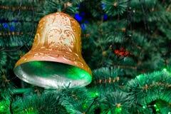 Bożenarodzeniowego dzwonu nowy rok Zdjęcia Royalty Free