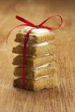 Bożenarodzeniowi ciastka Zdjęcia Royalty Free