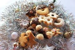 Bożenarodzeniowi cukierki - nastanie Obrazy Royalty Free