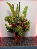 Bożenarodzeniowi kwiaty, sztuczni zdjęcia royalty free