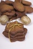 Bożenarodzeniowi miodowników ciastka Obraz Royalty Free