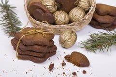 Bożenarodzeniowi miodowników ciastka Fotografia Stock
