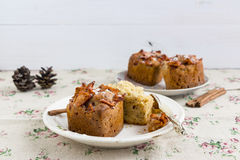 Bożenarodzeniowi muffins Fotografia Royalty Free