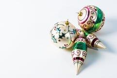 Bożenarodzeniowi ornamenty Zdjęcia Stock