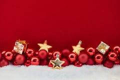 Bożenarodzeniowi prezenty i schodki Obraz Royalty Free