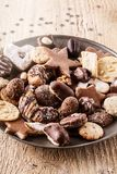 Bożenarodzeniowy ciasteczko zdjęcia stock