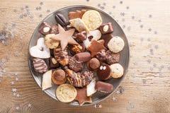 Bożenarodzeniowy ciasteczko Zdjęcia Royalty Free