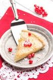 Bożenarodzeniowy cranberry tarta Zdjęcie Royalty Free