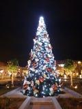 Bożenarodzeniowy dekoraci xmas drzewny Ateny Grecja zdjęcie royalty free