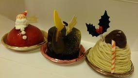 Bożenarodzeniowy deser Obrazy Royalty Free